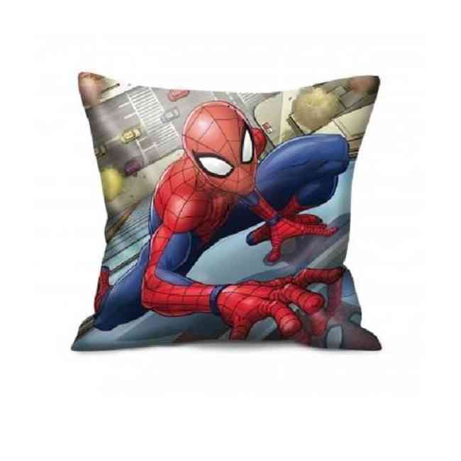 Coussin carré MARVEL enfant officiel Spiderman solo 40x40 cm