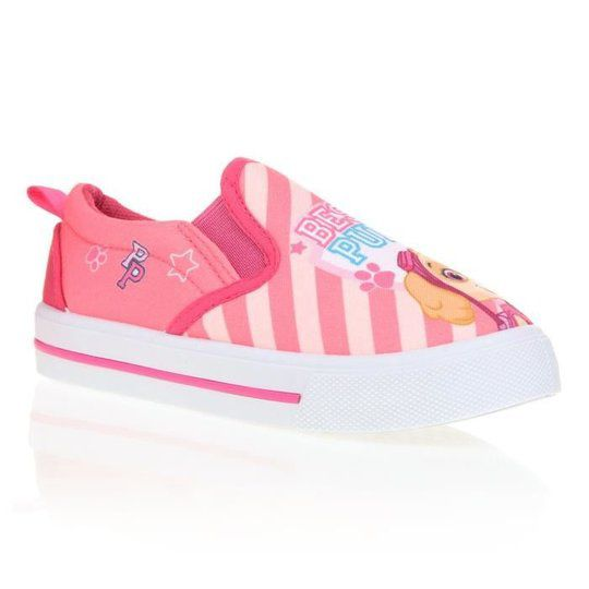 Baskets filles Pat Patrouille Nickelodeon rose - Pointure 25 à 32