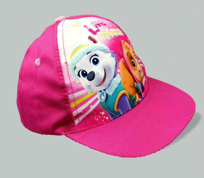 Casquette Fuchsia Pat Patrouille fille baseball 100% polyester