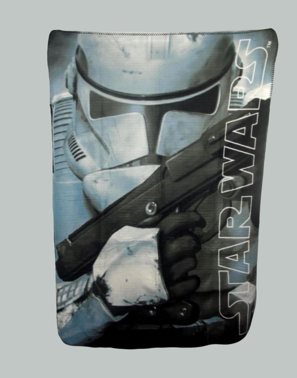 Plaid polaire enfant Stormtrooper de Star Wars - 140X100CM - Gris 100% Polyester