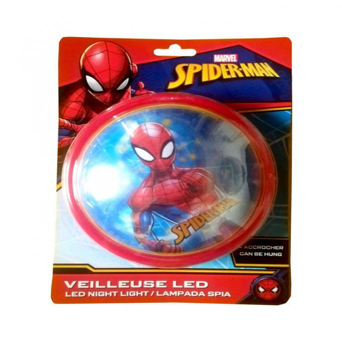 Veilleuse lumineuse à LED - MARVEL Spiderman rosso
