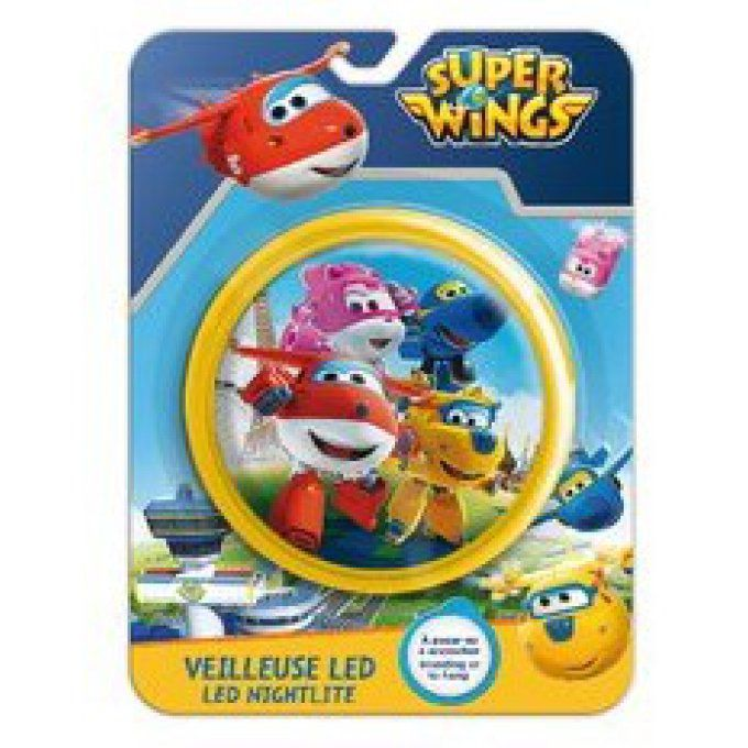 Veilleuse lumineuse à LED - Super Wings giallo