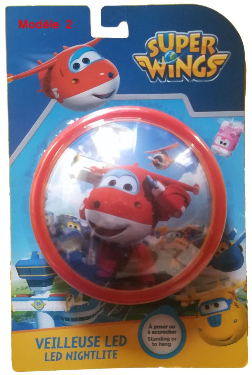 Veilleuse lumineuse à LED - Super Wings
